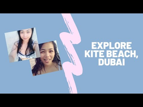 Beaches are Become Active After The Lockdown in Dubai – Explore Kite Beach, Dubai – Mia Marjorie