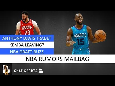 Anthony Davis Trade Rumors, Kemba Walker Leaving, NBA Draft Rumors & NBA Free Agency | Mailbag
