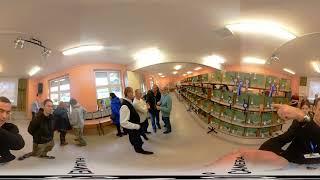 VI Mistrzostwa Ziemi Lubuskiej Kanarków i ptaków egzotycznych film nagrany w 360 stopniach.