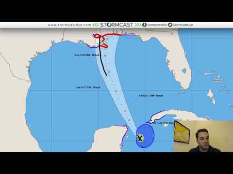 Tropical Storm Nate Video Discussion - 7 p.m. CT October 6th
