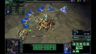 [HD]Starcraft 2 Beta Gameplay/Commentary 2v2 PZvPZ Tarsonis Assault PT 1/2
