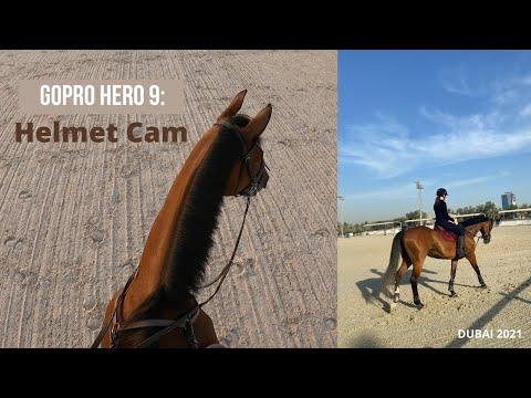 GoPro 9 Helmet Cam, Dubai Polo & Equestrian Club 2021