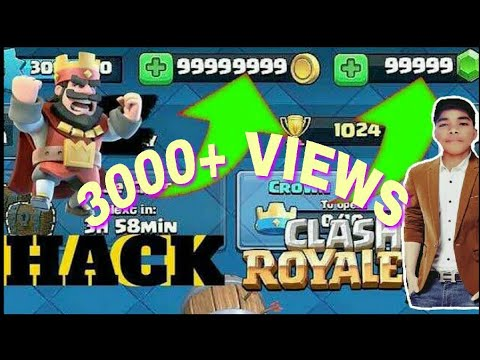 [Hindi] CLASH ROYALE HACK Gems 2020 with Root(Android/ios)   How To Get Unlimited Free Gems.