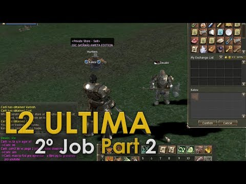 Lineage 2 - Quest 2º Job Dwarf Bounty Hunter - Testimony of Prosperity - Parte 2 - (37+) UltimaL2