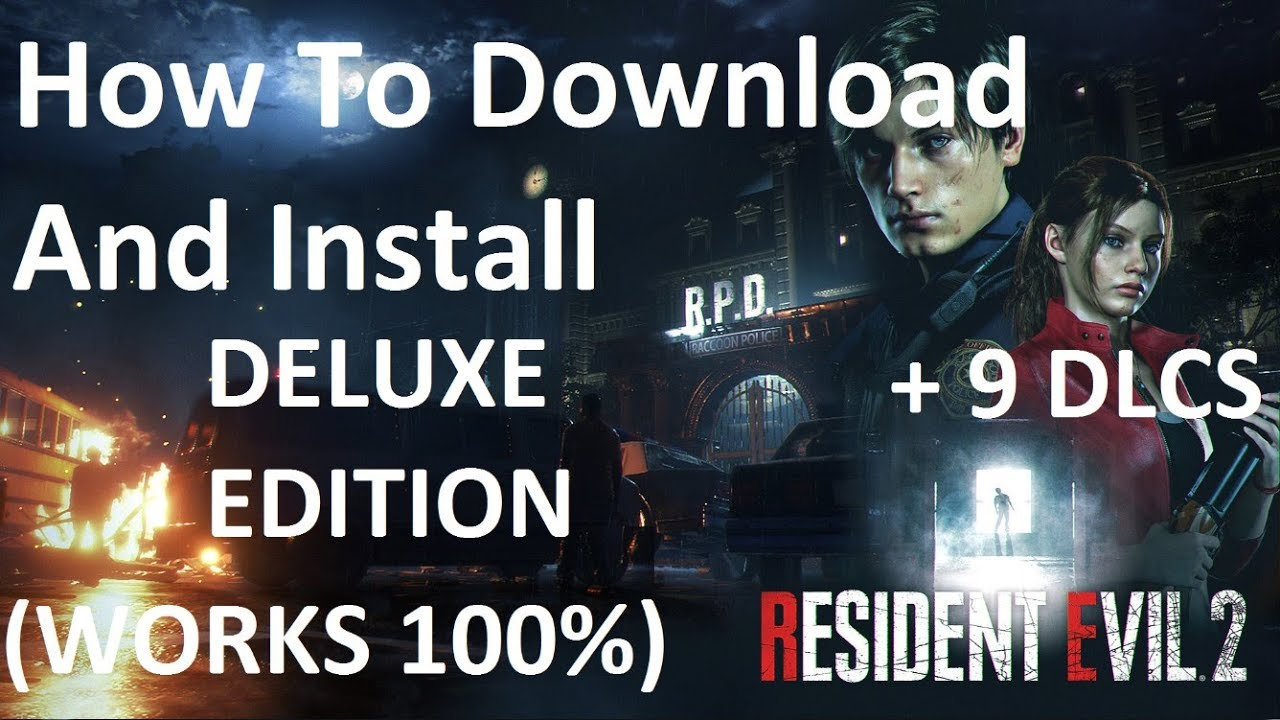 How To Download And Install Resident Evil 2 Pc Works 100 By