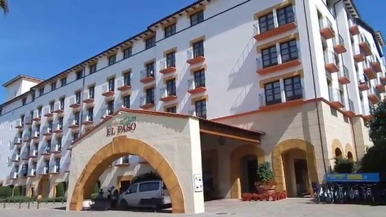 Hotel El Paso Portaventura Walk Through And Room