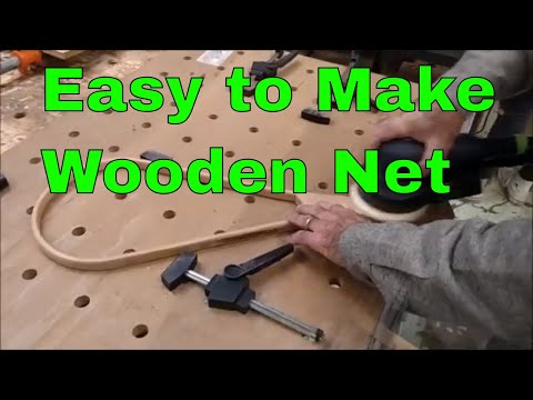 Overview Easy Wooden Fishing Net