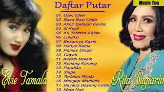 Download Koleksi lagu-lagu unggulan oleh Evie Tamala dan Rita Sugiarto - Lagu Dangdut Lawas