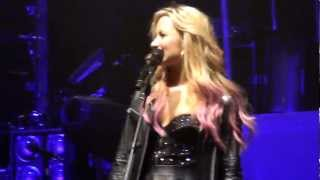 Download Here We Go Again/LaLa Land - Demi Lovato in Salt Lake City, Utah MP3 song and Music Video