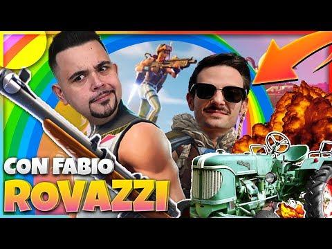 Fortnite : Duo con Fabio Rovazzi e il Suo...