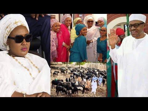 Download Rashin tsaro a villa Aisha Buhari ta koma Dubai da zama, Buhari ya fi son shanun sa akan al'ummar sa