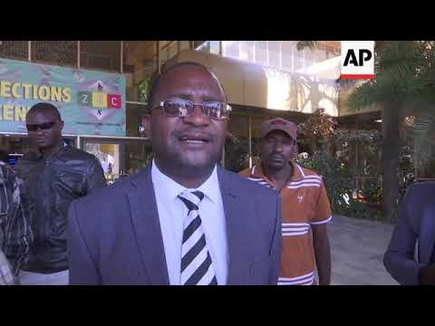MDC spokesman says party considering court appeal of election result