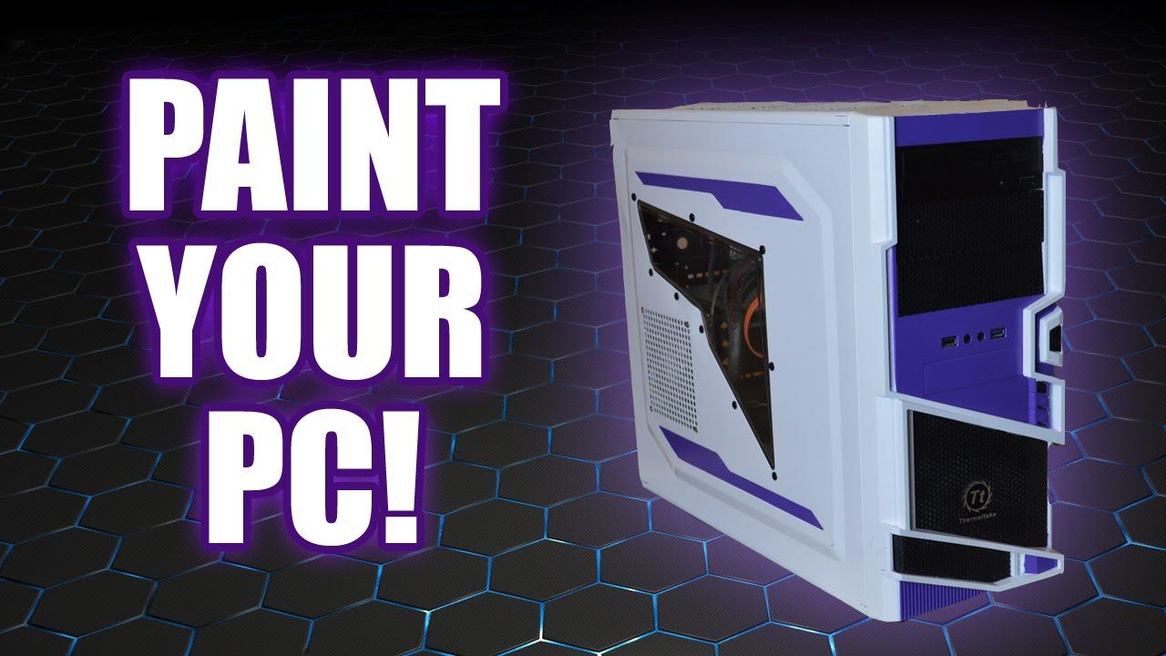 Pc Case Spray Paint Mods