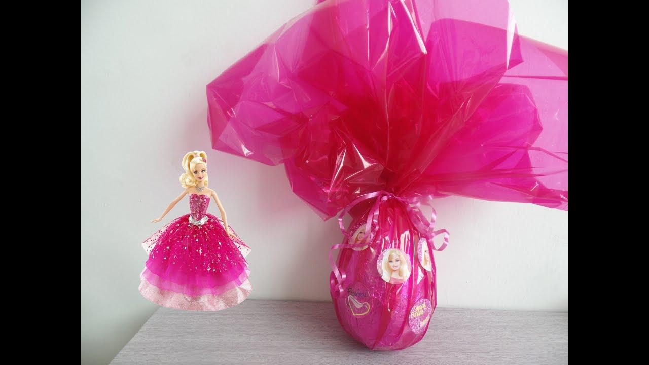 Como fazer ovo de Páscoa da Barbie rápido fácil e divertido  #BB0E3E 3000x2250 Banheiro Da Barbie Como Fazer