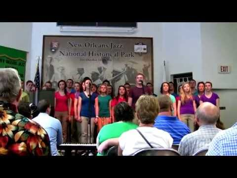 Omagh Community Youth Choir. New Orleans