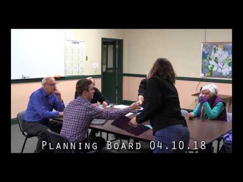 Planning Board 04.10.18