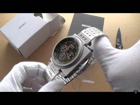 "A Childhood Dream Come True - Seiko Giugiaro ""Aliens Ripley"" SCED035 Unboxing & Brief History"