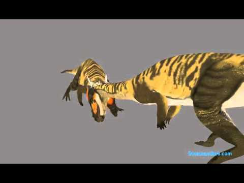 Stygimoloch Headbutting Animation