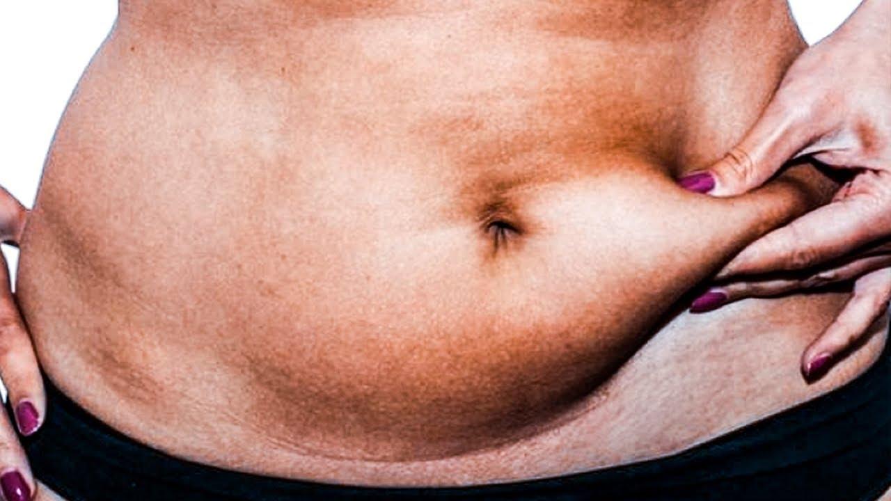 растворить жир на животе