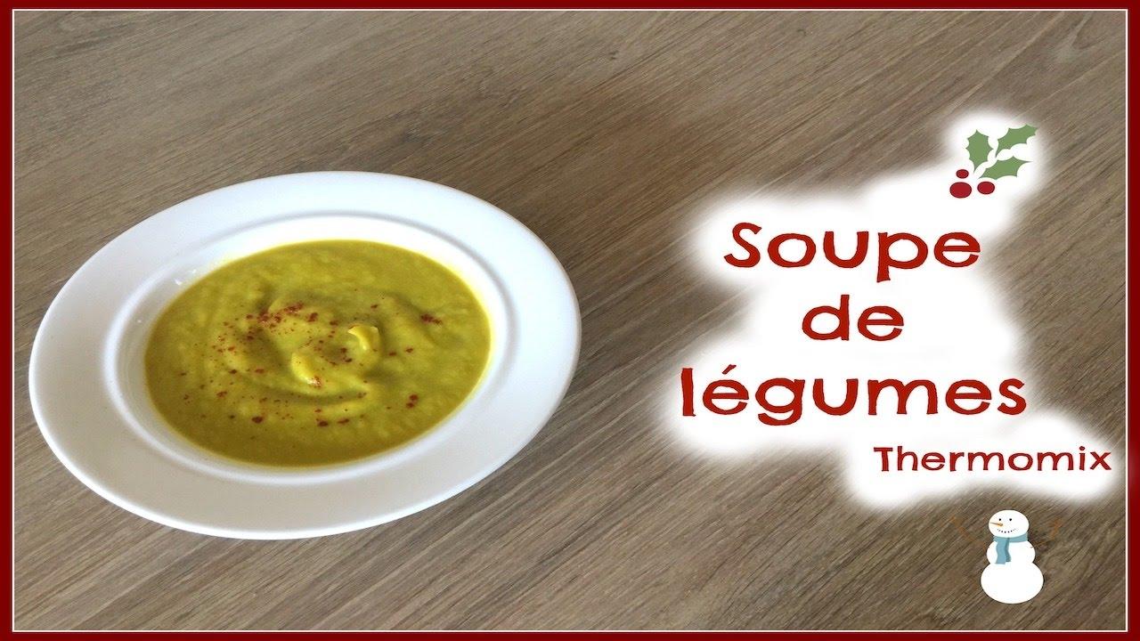 Soupe de l gumes d 39 hiver thermomix youtube - Soupe de brocolis thermomix ...