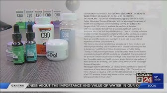 CBD retailers react to Mississippi warning against all CBD use