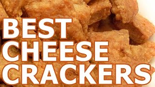 Cheese crackers snack recipe - by TwoCarrots recipes