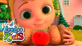 One Potato, Two Potatoes - THE BEST Songs for Children | LooLoo Kids