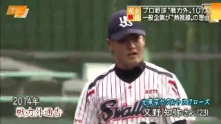 NPB日本野球機構が公表している戦力外通告などで引退したプロ野球選...