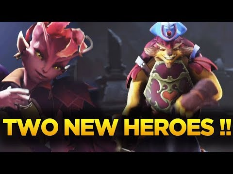 TWO NEW HEROES ANNOUNCED !! THE DUELING FATES UPDATE DOTA 2 TI7