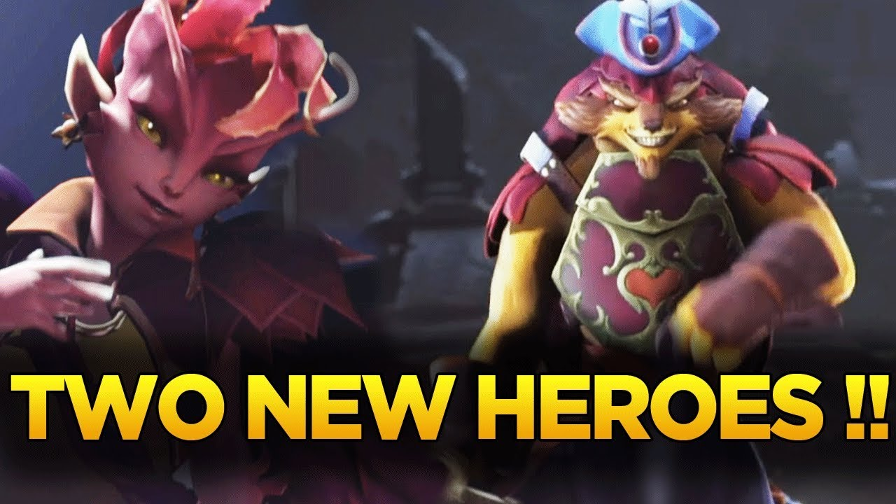 two new heroes announced the dueling fates update dota 2 ti7