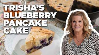 Blueberry Pancake Cake with Trisha Yearwood | Food Network