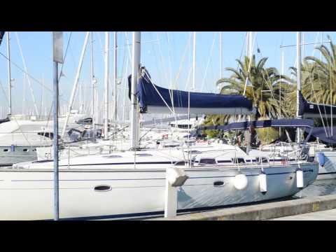 ormeggio barca a vela #mooring sail boat #docking# berthing#crash#trouble