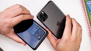 Samsung Galaxy S20 Ultra vs iPhone 11 Pro Max: which one is better?