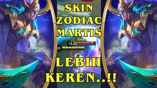 New Skin Martis Zodiac Capricorn, Skill Effect Super Keren, zodiak skin Mobile Legend Bang-bang