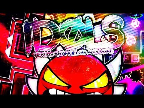 "EXTREME VERIFICATION BY DORAMI! (ME) | ""Idols"" By Herdys & Zafkiel and More! | Geometry Dash [2.11]"