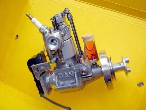 15CC  4 stroke RC engine: gas,not nitro!