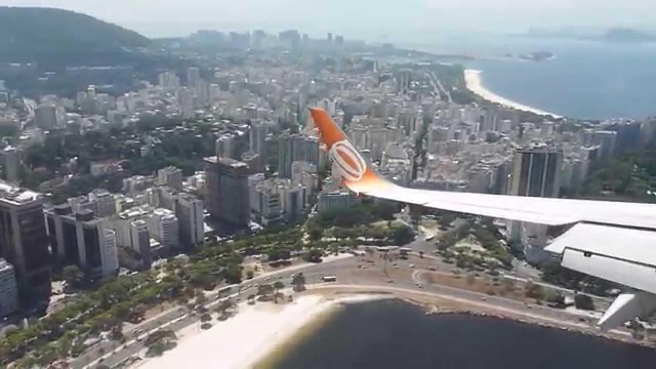 Aeroporto Santos Dumont : Pouso aeroporto santos dumont sdu rj