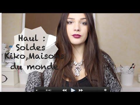 Haul soldes kiko maisons du monde h m co youtube - Soldes maison du monde ...