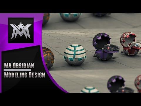 Bakugan Modeling | MA Obsidian