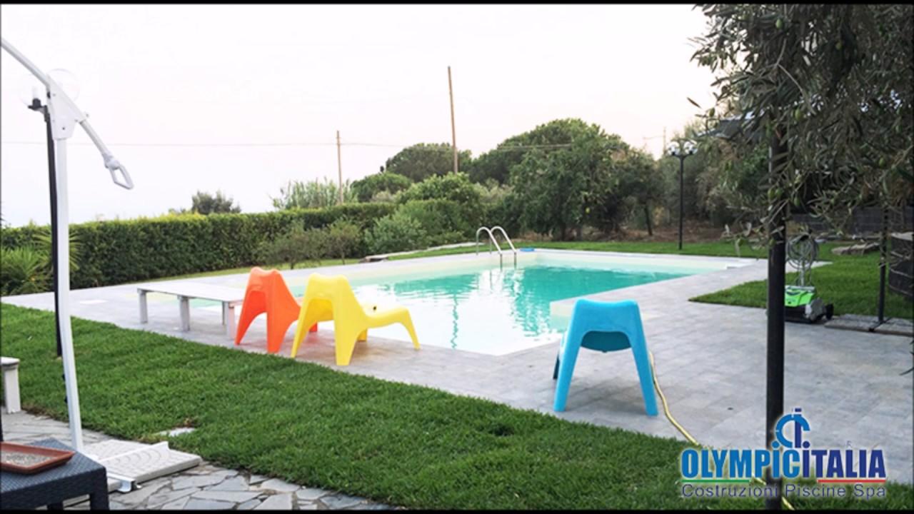 Vendita Piscine A Catania costruzione e vendita piscine catania - offerte piscine catania skimmer  sfioro plus