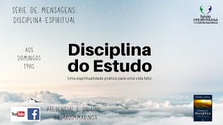 Salmo 1.1-2 - Disciplinas espirituais - Estudo