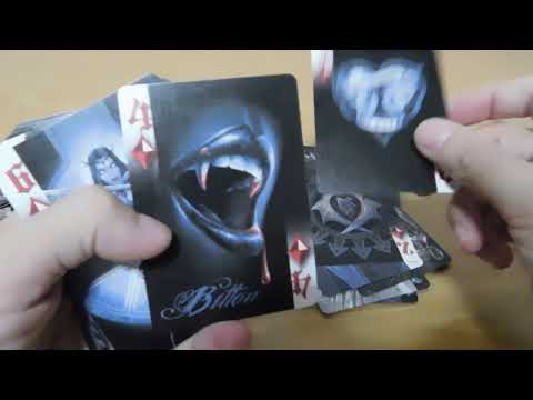 Anne Stokes Dark Hearts Poker Cards Deck Unboxing