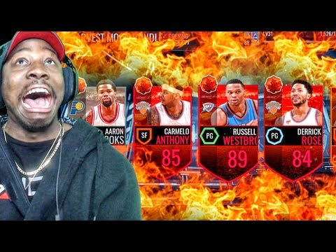 HARVEST MOON PACK OPENING ELITES ARE LIT! NBA Live Mobile 16 Gameplay Ep. 41