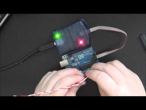 Arduino Tut. #5 - Bootloader Burning With AVR ISP MKII