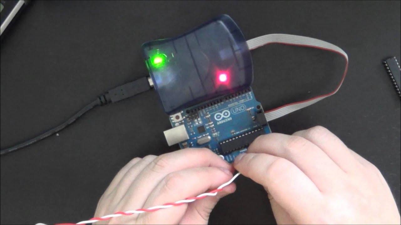 Arduino Tut  #5 - Bootloader Burning with AVR ISP MKII