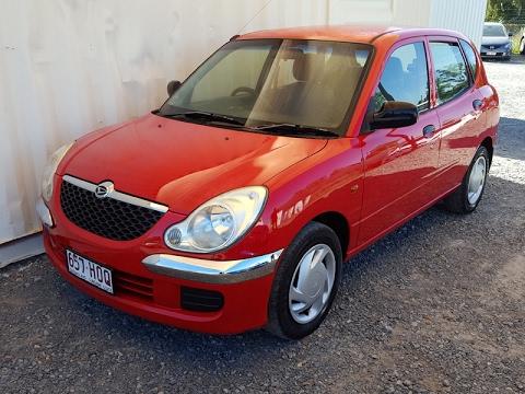 (SOLD) Automatic Cars Cheap to run Daihatsu Sirion 2004 review