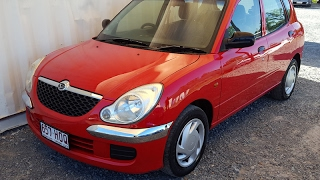 (SOLD) Automatic Cars Cheap to run Daihatsu Sirion 2004 review