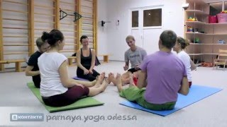 Парная йога. Практика. Человеческая мандала. Видео-урок 12