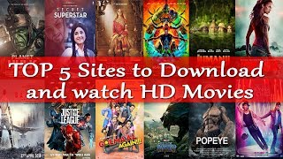 Top 5 Sites to Download and Watch latest full HD Movies for free