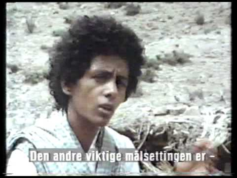 Documentary film. Eritrean women's in Norwegian TV broadcast in 1980s.